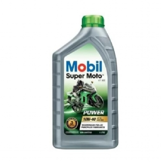 Óleo Mobil Super Moto 4t Mx Power 10w40 Api Sl