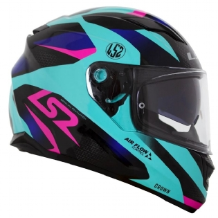 CAPACETE LS2 FF320 STREAM CROWN